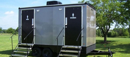 vip portable restroom trailers in Virginia Beach VA