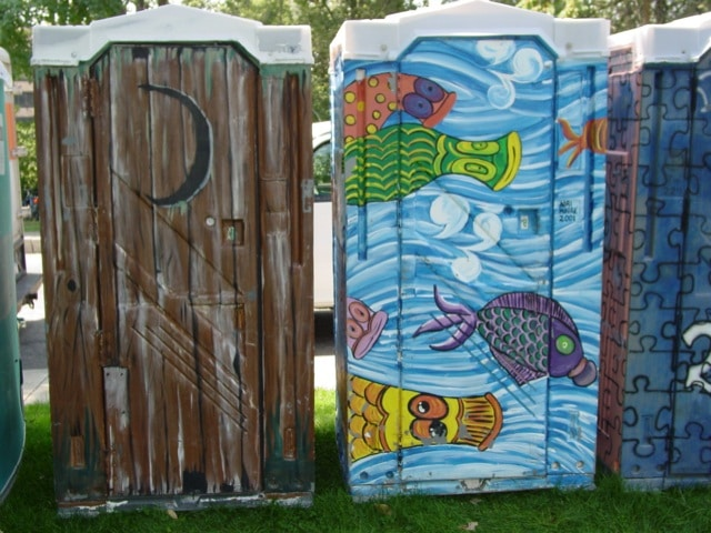 virginia beach designer porta potties